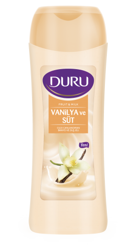 Duru Fruit & Milk Duş Jeli – Vanilya ve Süt